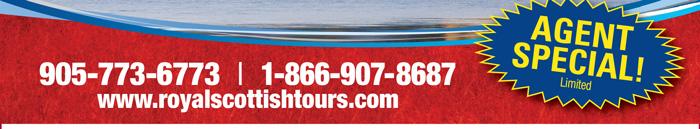 905-773-6773 • 866-907-8687 • www.royalscottishtours.com